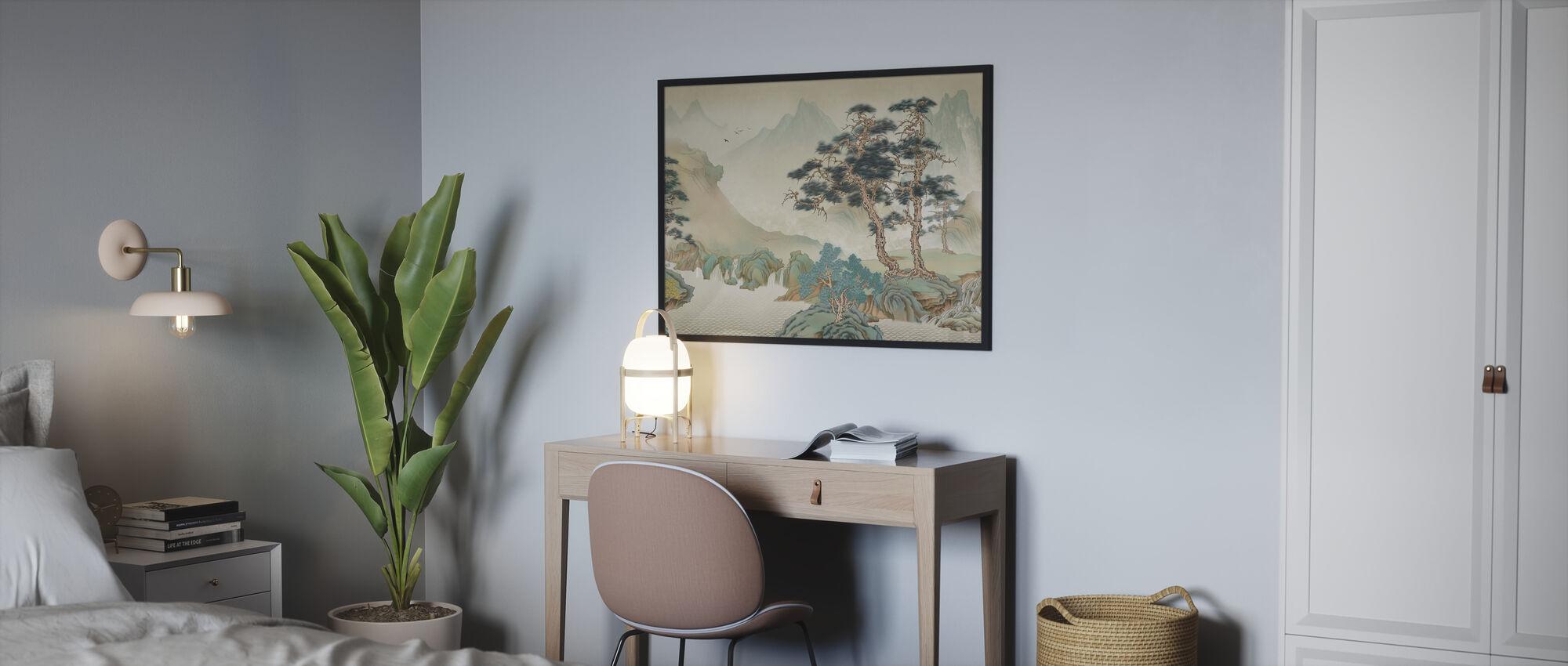 Jiangs Landscape - Framed print - Bedroom