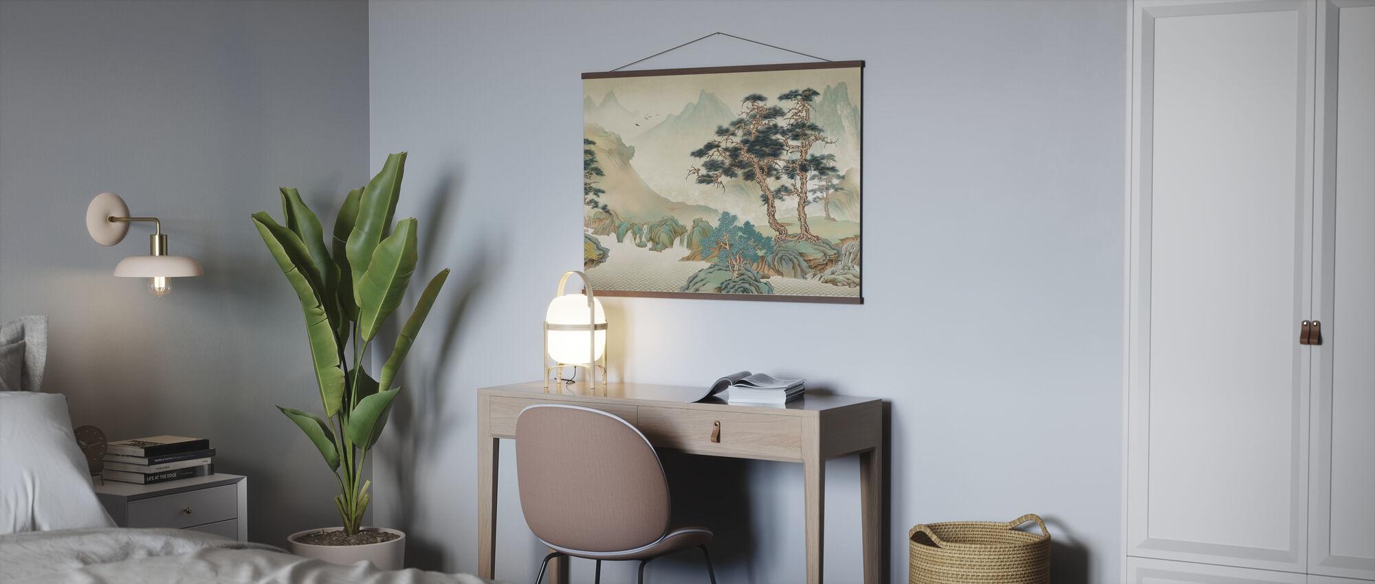 Jiangs Landscape - Poster - Office