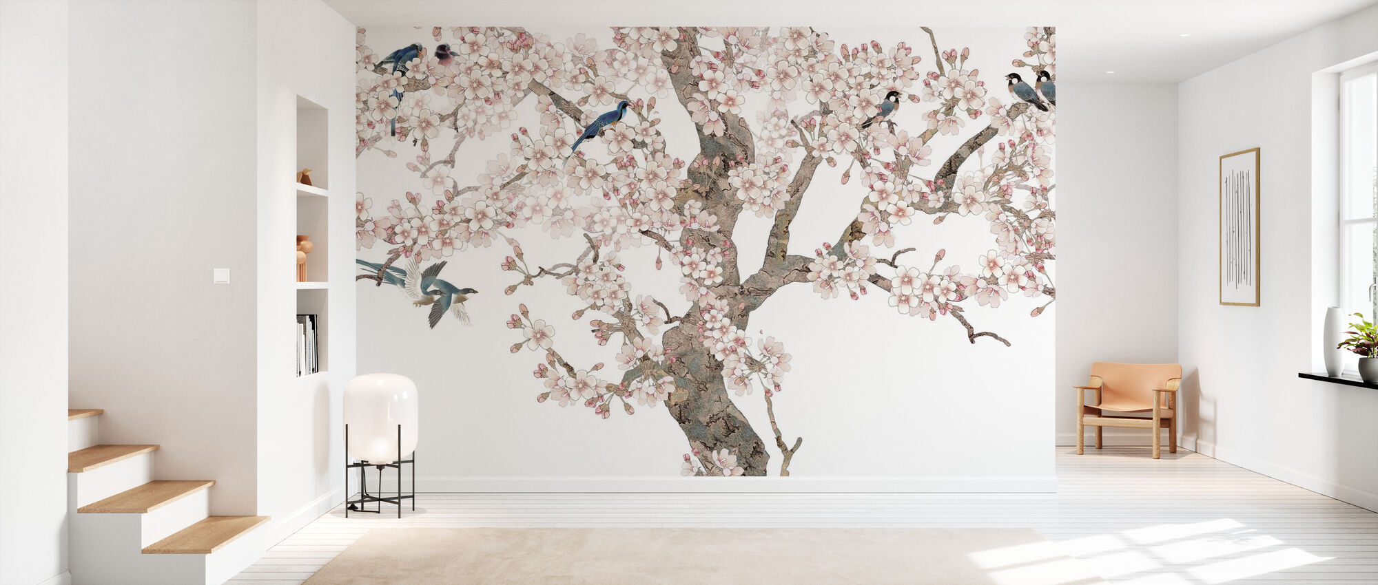 Doux Birds Home - Wallpaper - Hallway