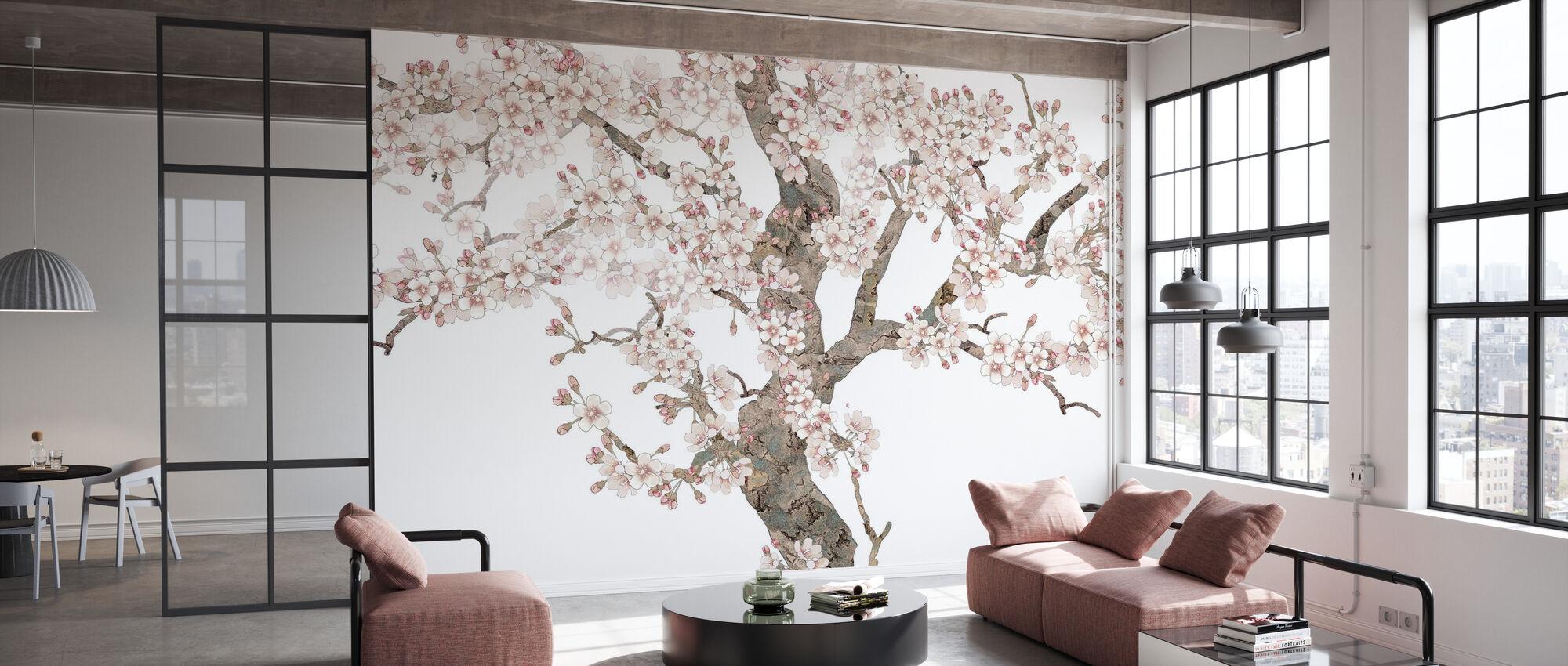 Doux Blossom - Wallpaper - Office