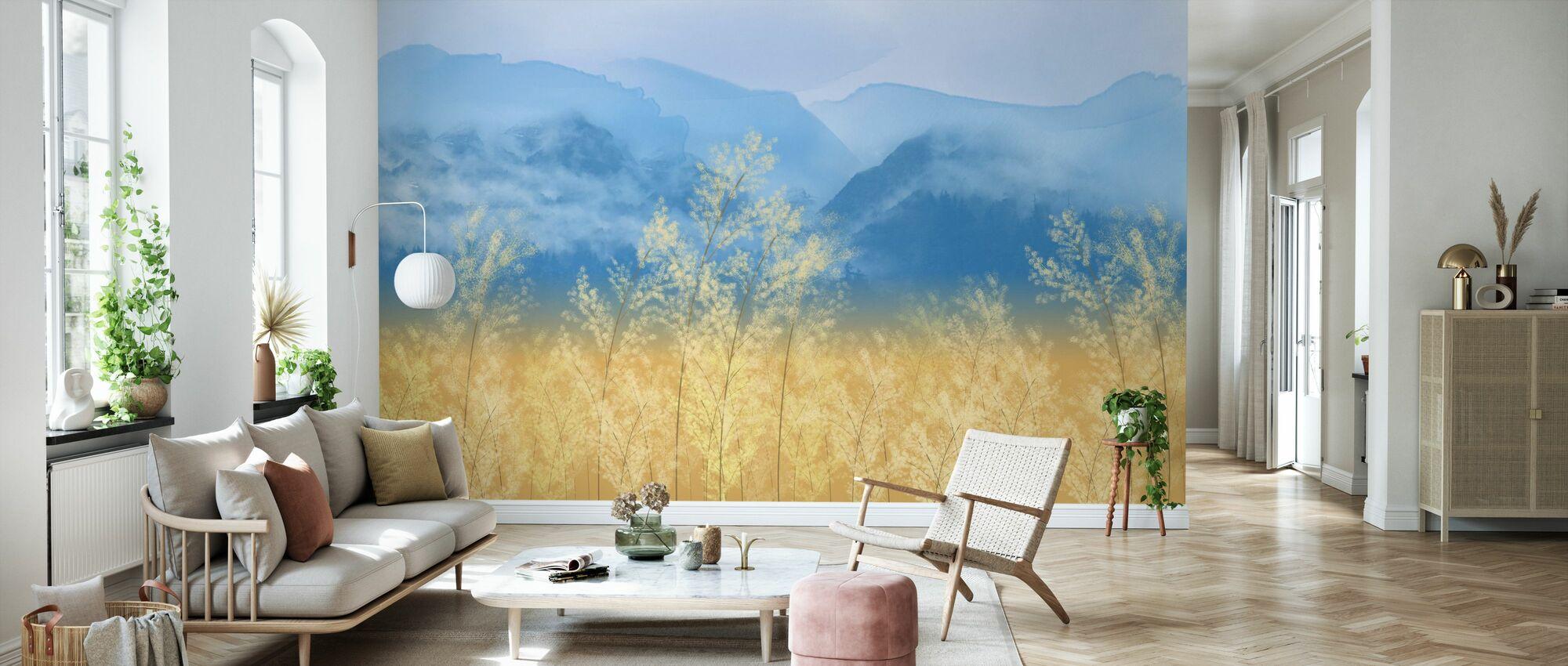 Eugene Field - Wallpaper - Living Room