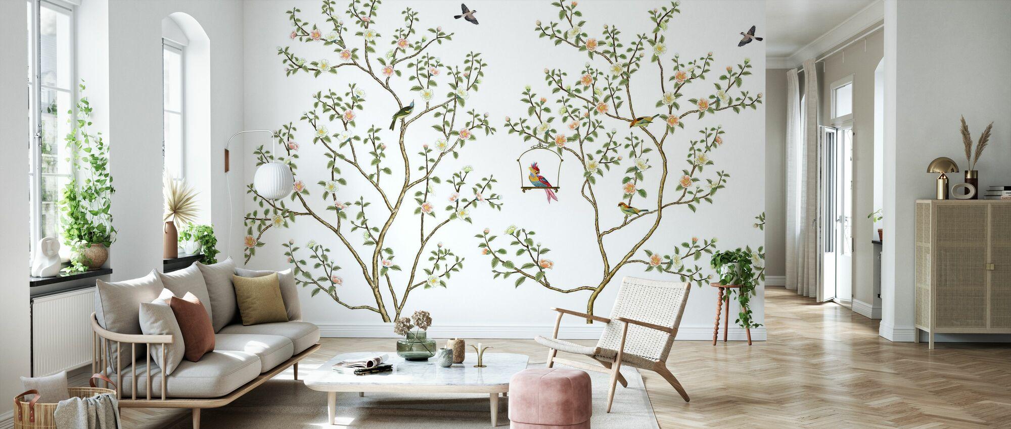 New Chinoiserie - Wallpaper - Living Room