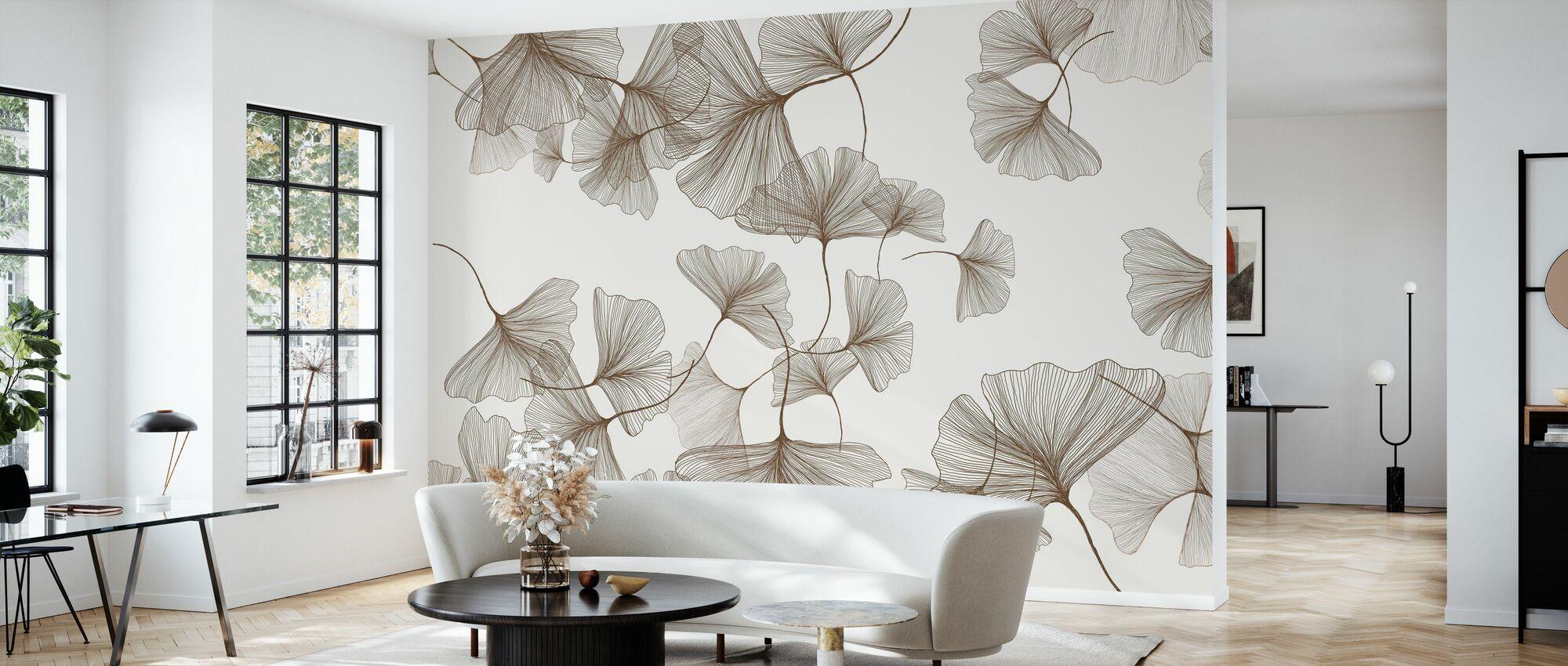 - Lamella. - Yeah - Wallpaper - Living Room