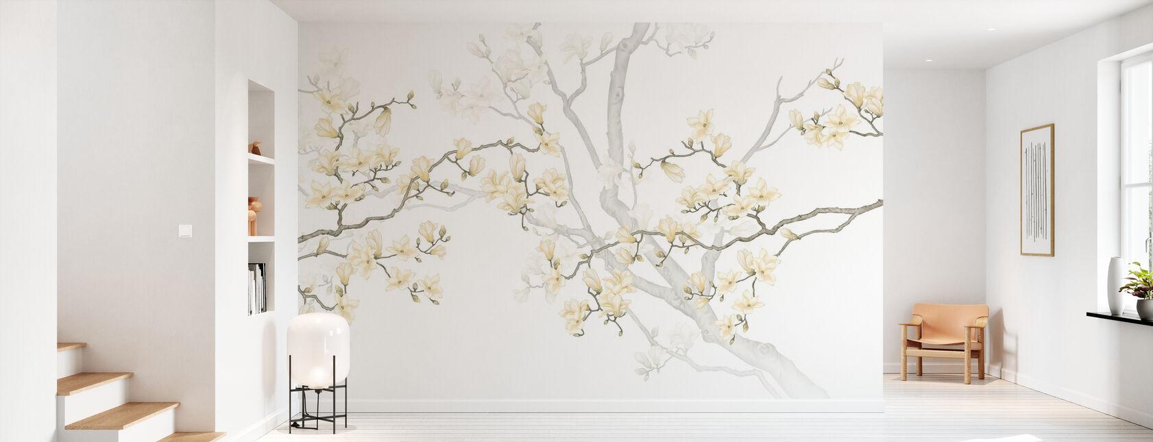 Quietism - Sand - Wallpaper - Hallway