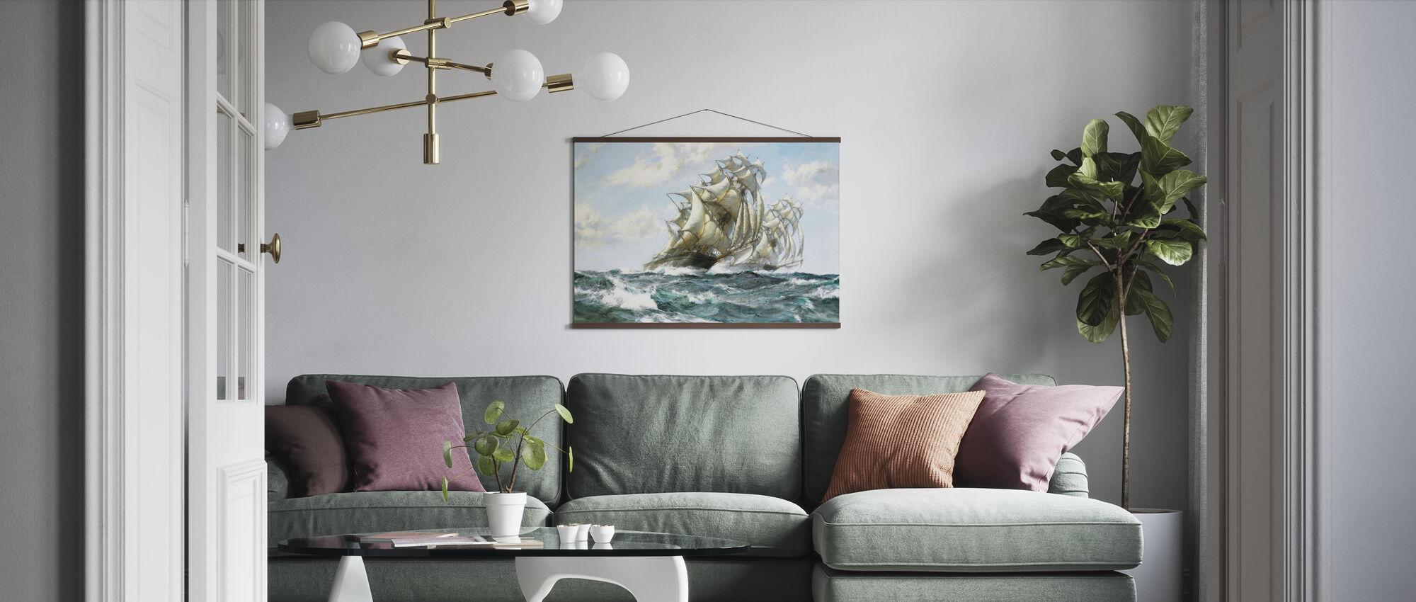 Turbulent Navigation - Poster - Living Room