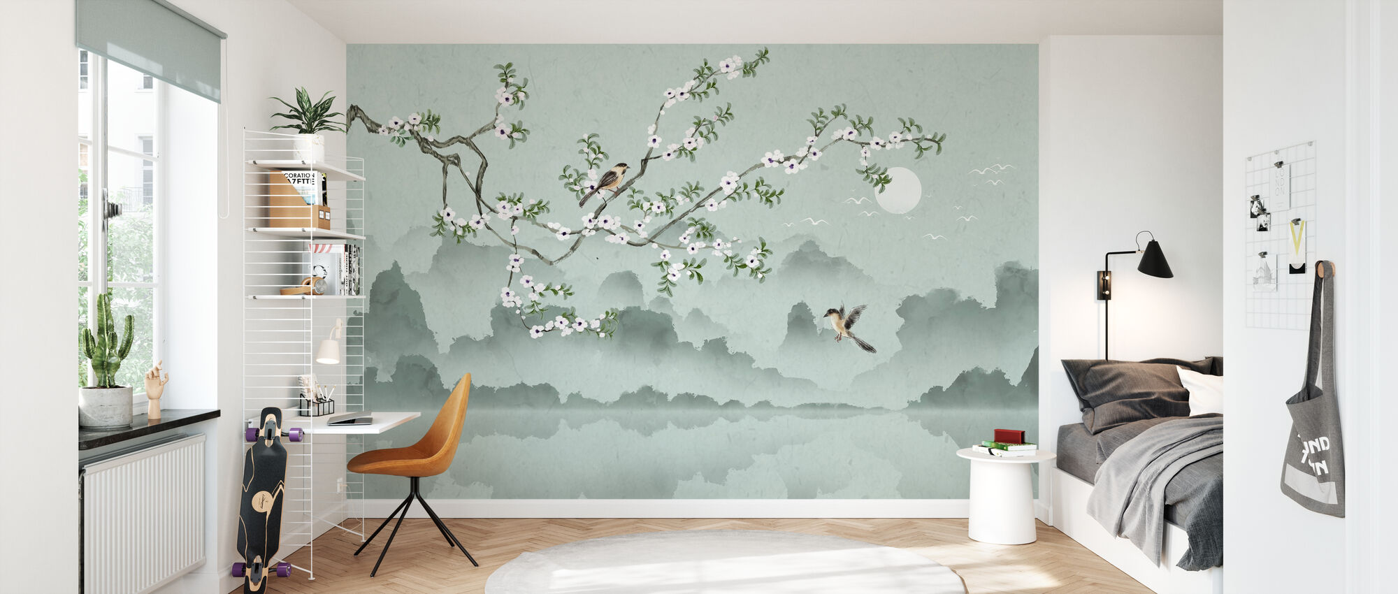 Birds Lookout - Wallpaper - Kids Room