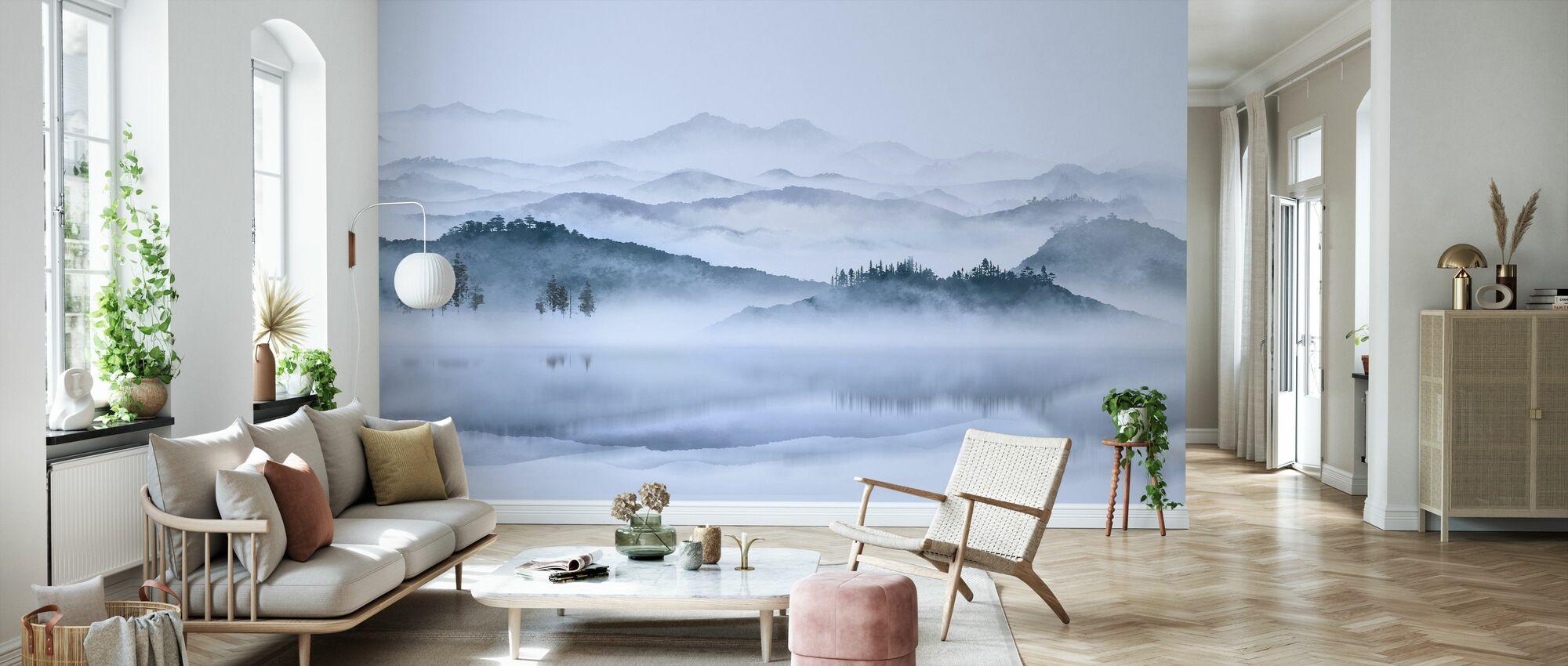 Misty Scenery - Wallpaper - Living Room