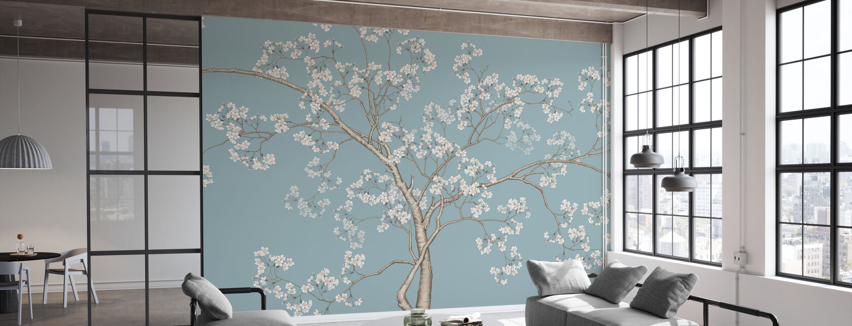 The Tree - Bluefin - Wallpaper - Office