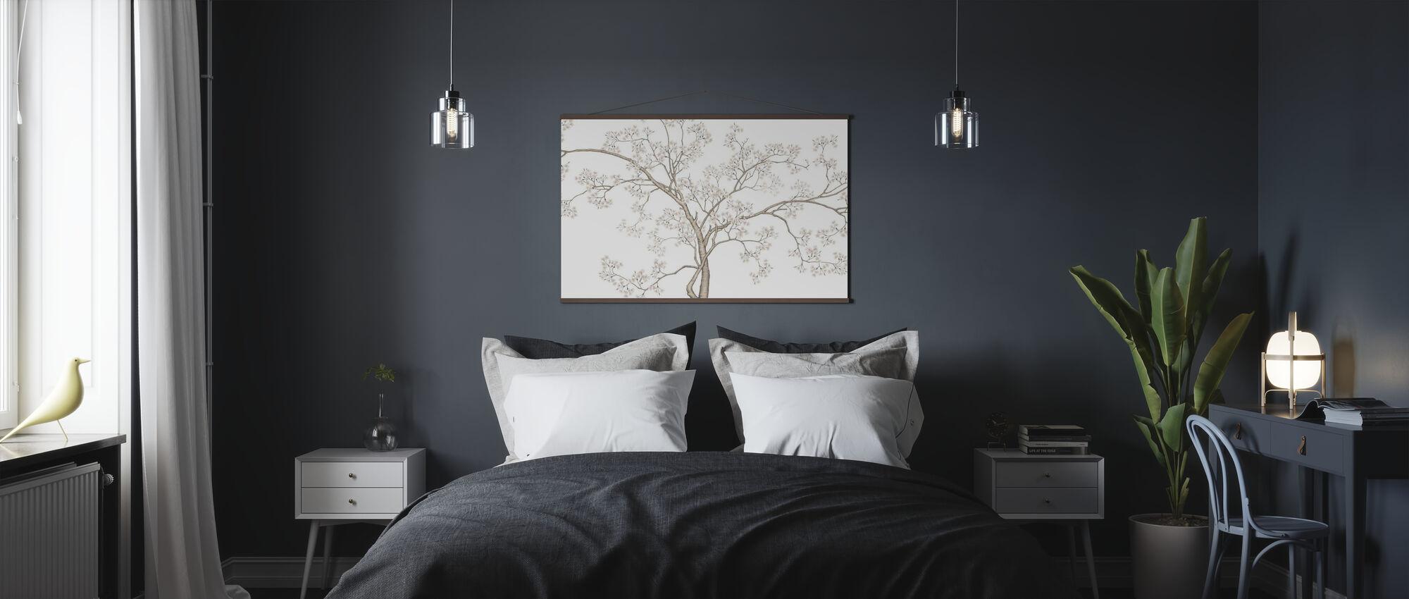 Puu - Juliste - Makuuhuone