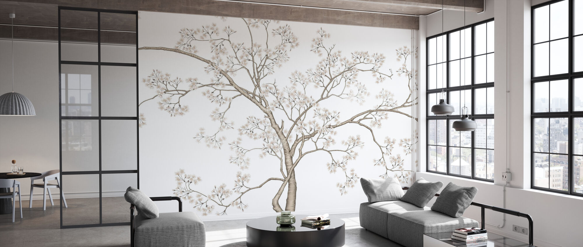 The Tree - Wallpaper - Office