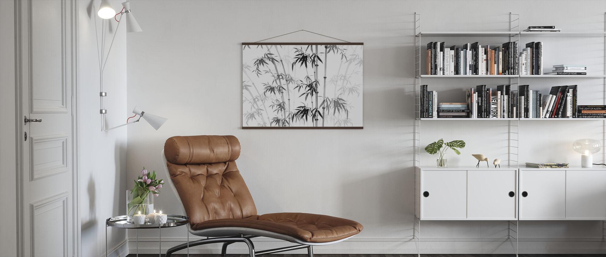 Bambus Noix - Plakat - Stue