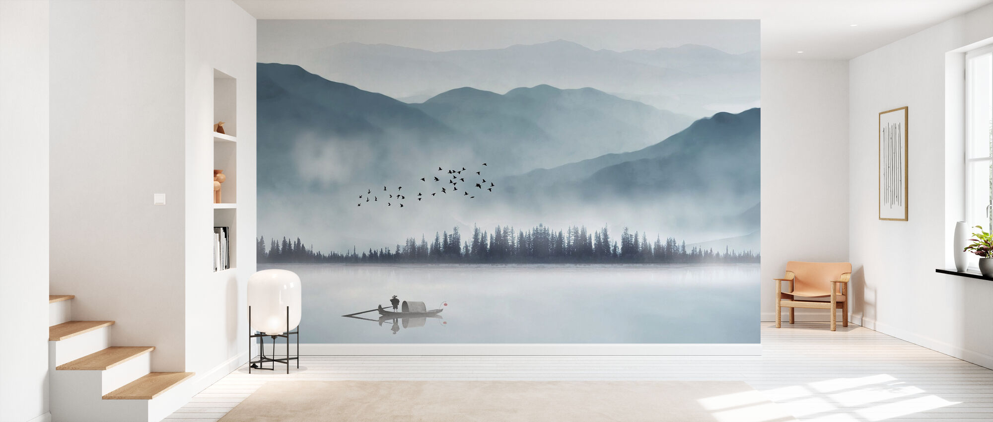 Fisherman - Wallpaper - Hallway