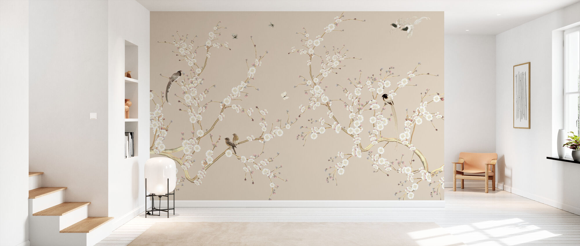Flowering - Wallpaper - Hallway