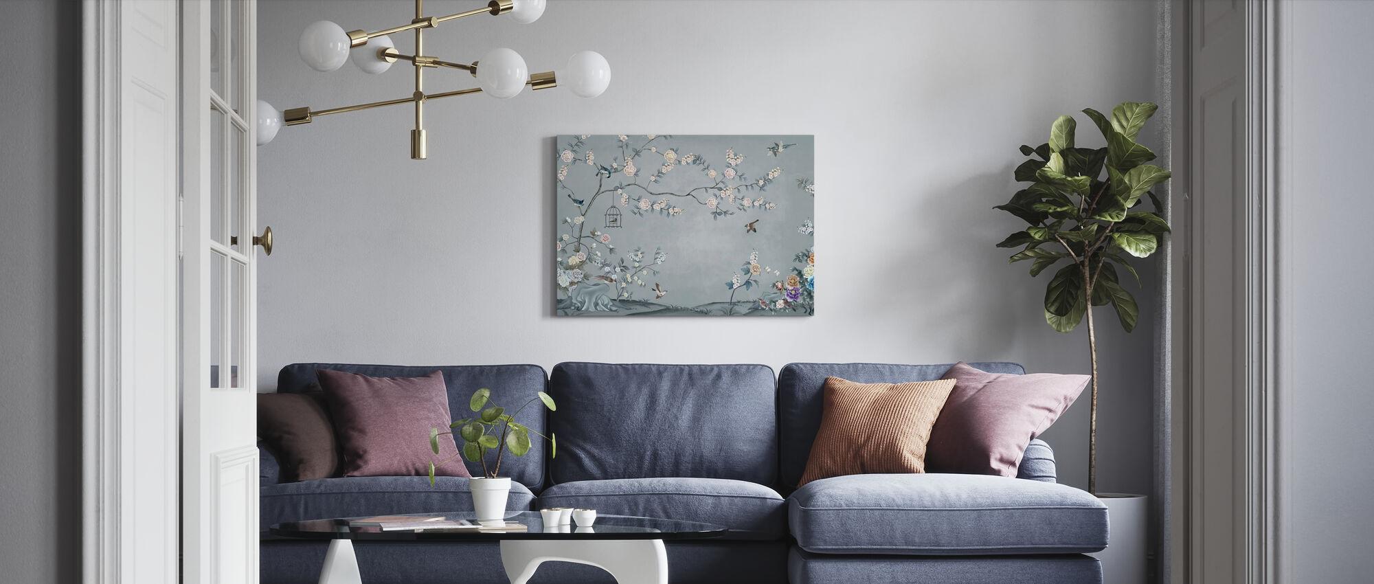 Birds Eden - Canvas print - Living Room