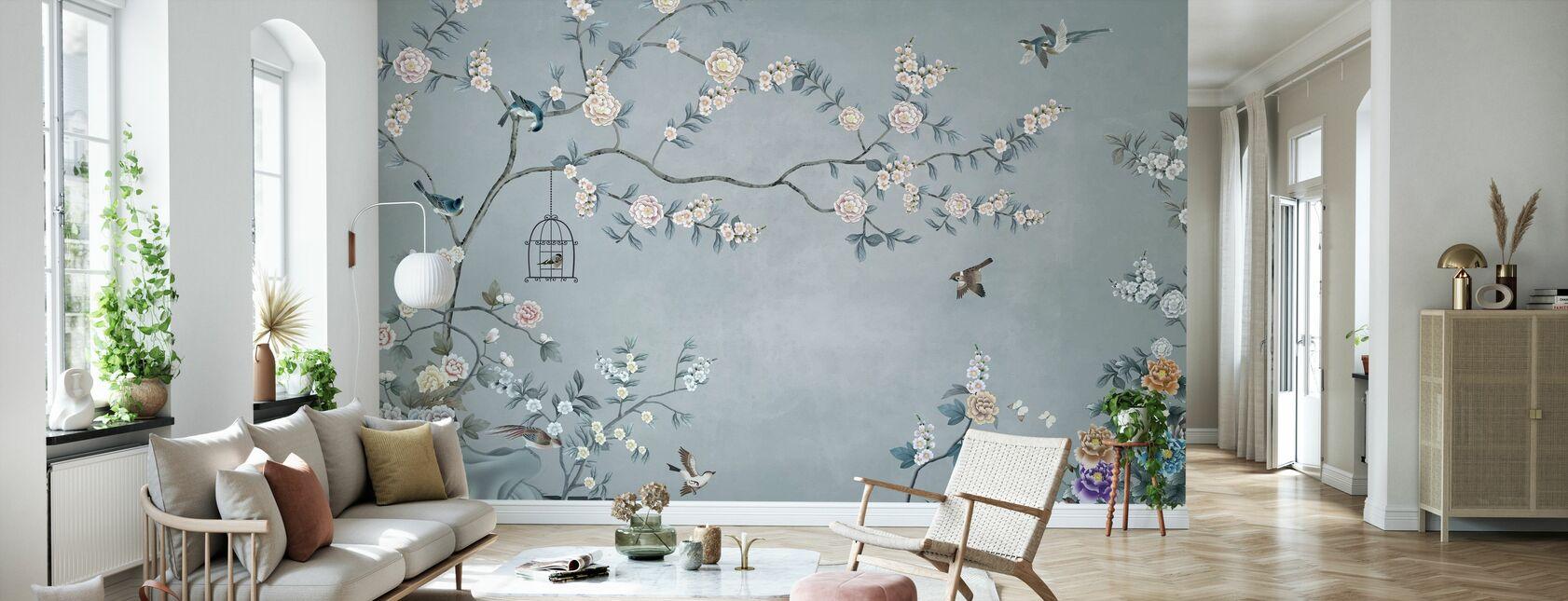 Birds Eden - Wallpaper - Living Room