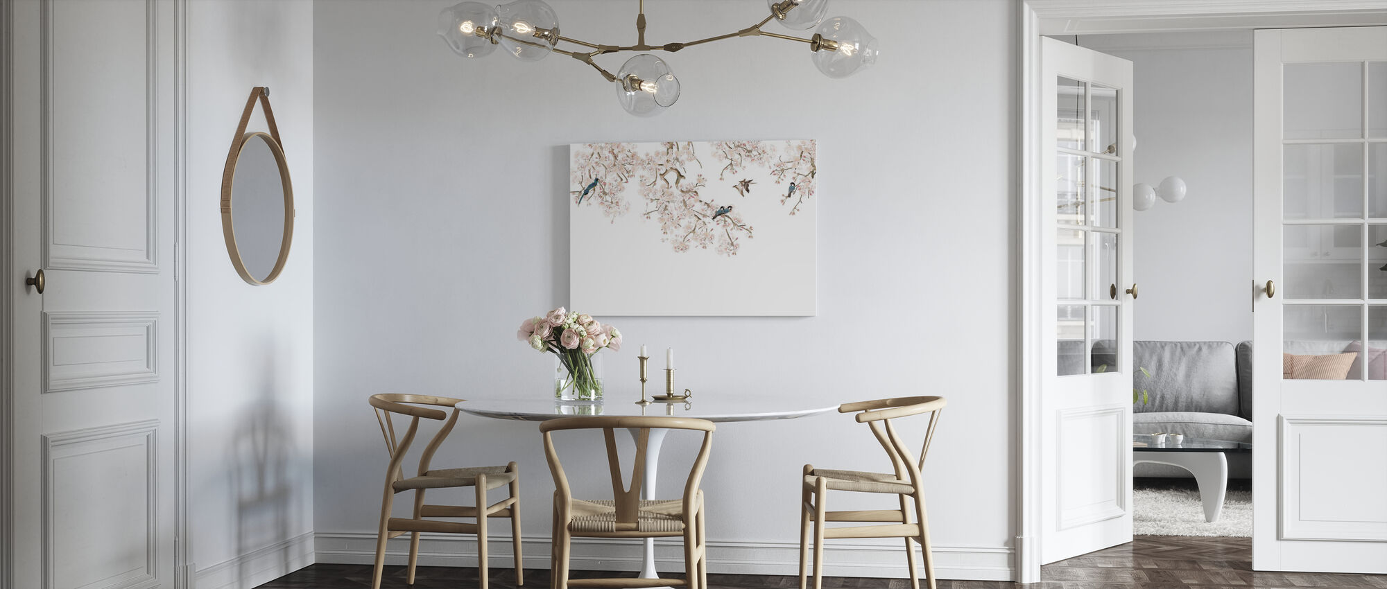Birds Hangout - Canvas print - Kitchen