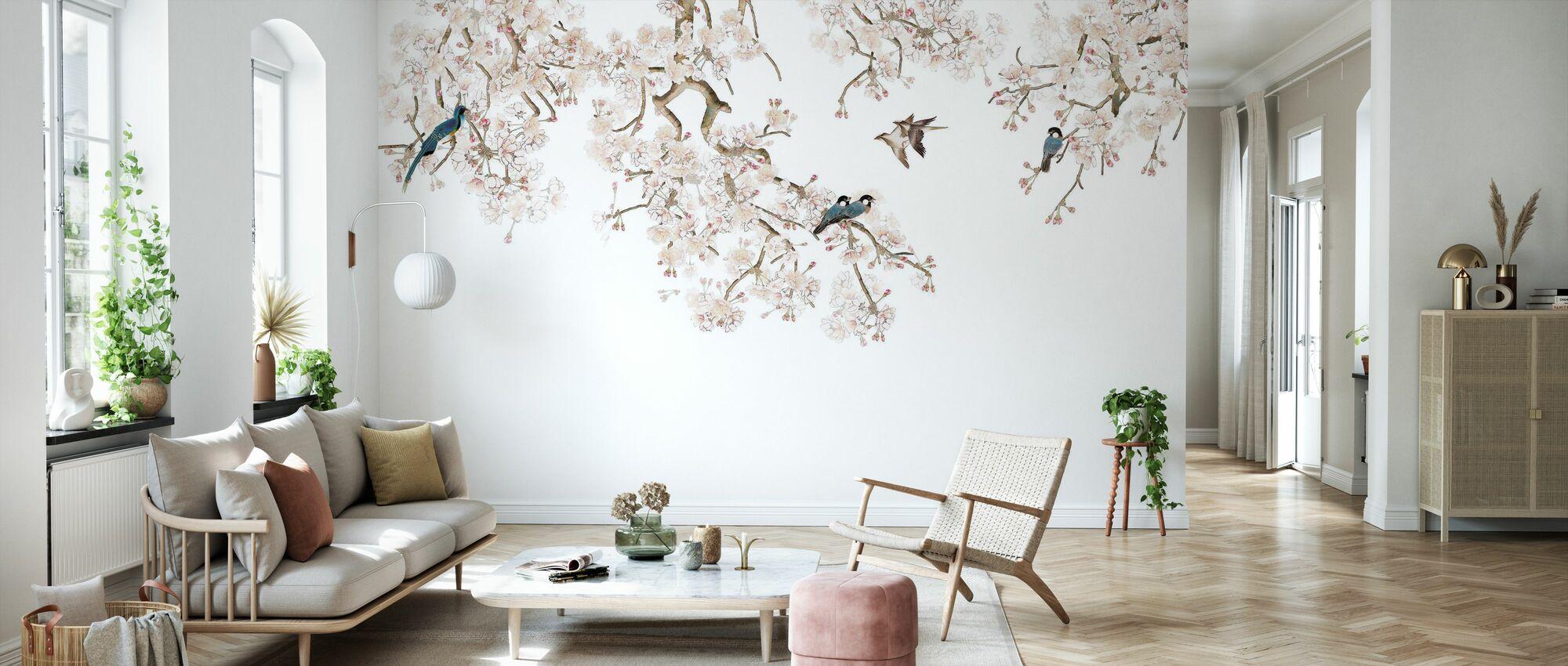 Vogel-Hangout - Tapete - Wohnzimmer
