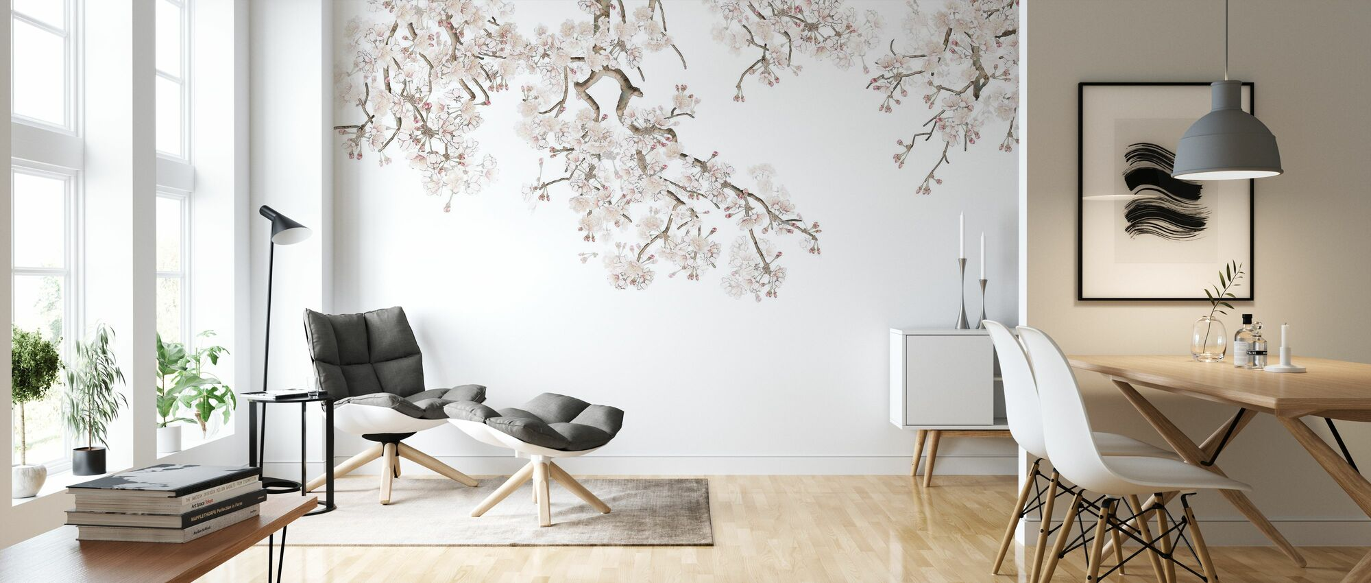 Hanging Branches - Wallpaper - Living Room