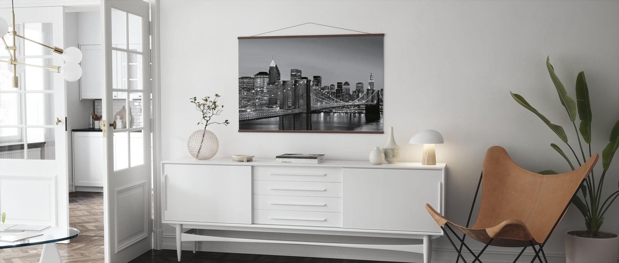 New York Skyline - Poster - Living Room