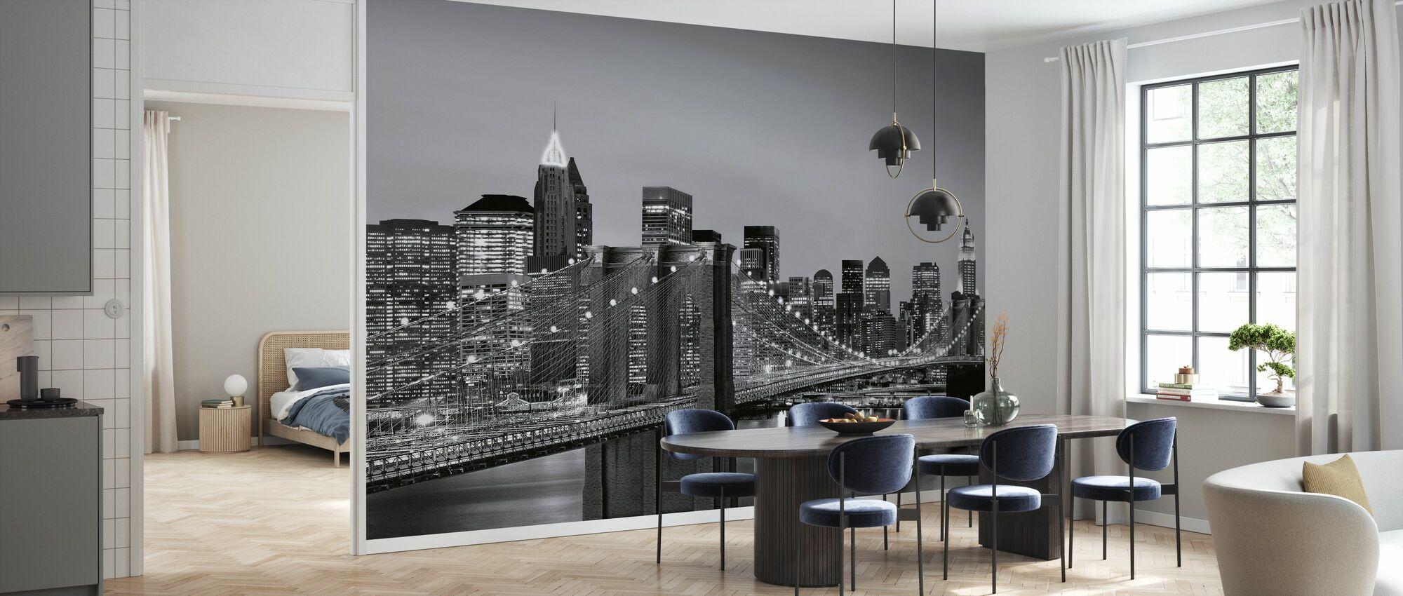 New York Skyline - Wallpaper - Kitchen