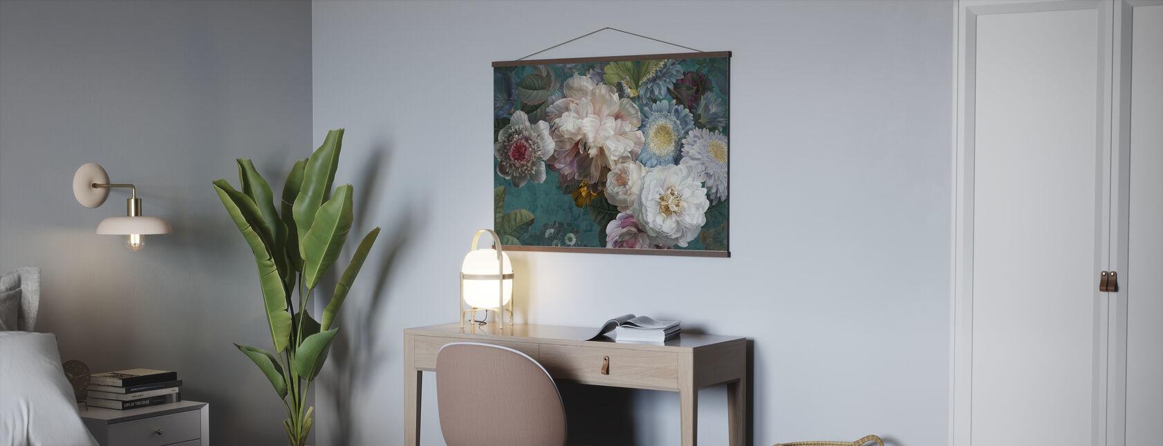 Disposizione Lustre - Smeraldo - Poster - Uffici