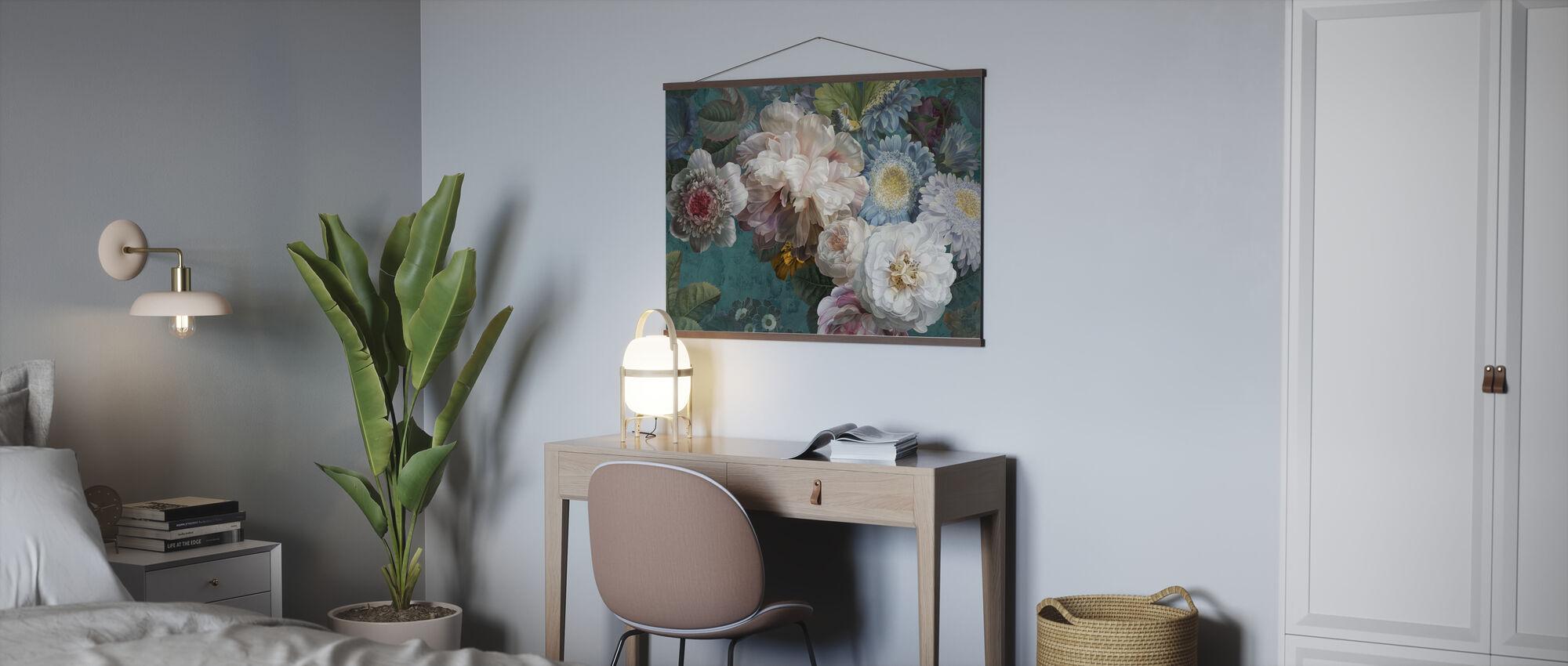 Lustre Arrangement - Smaragd - Poster - Kantoor