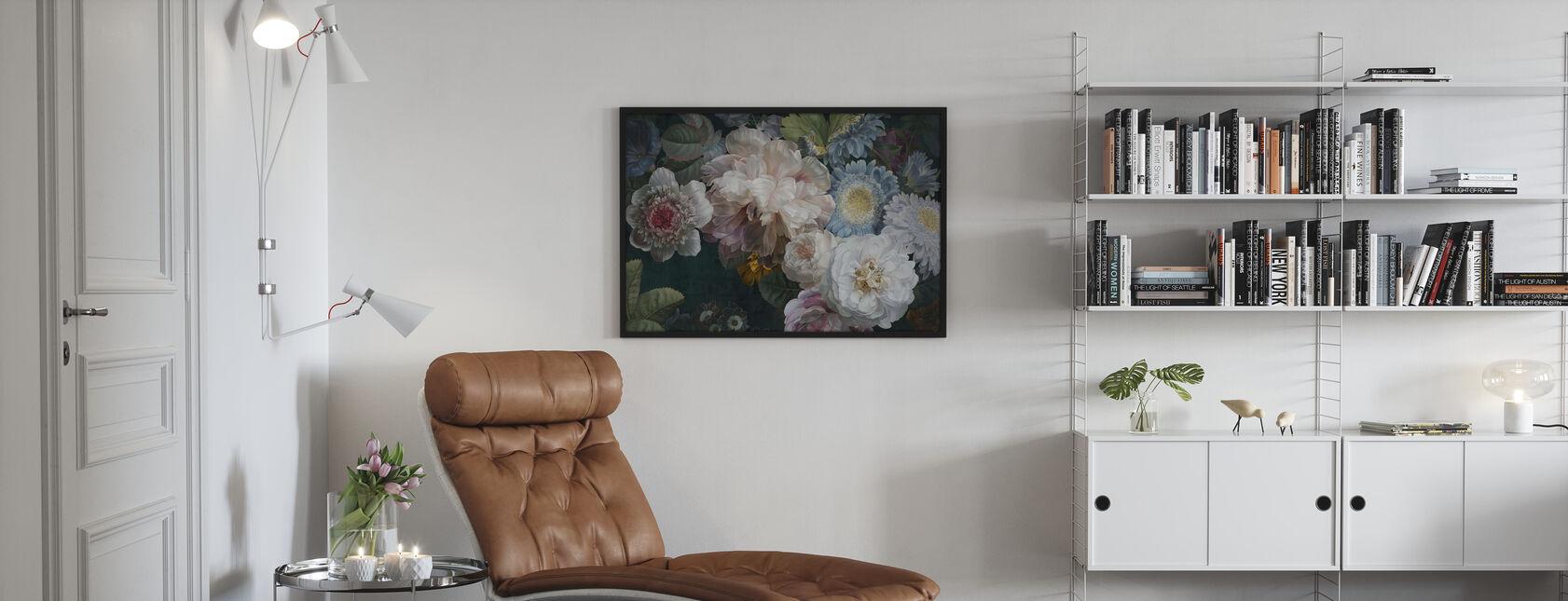 Lustre Arrangement - Ingelijste print - Woonkamer