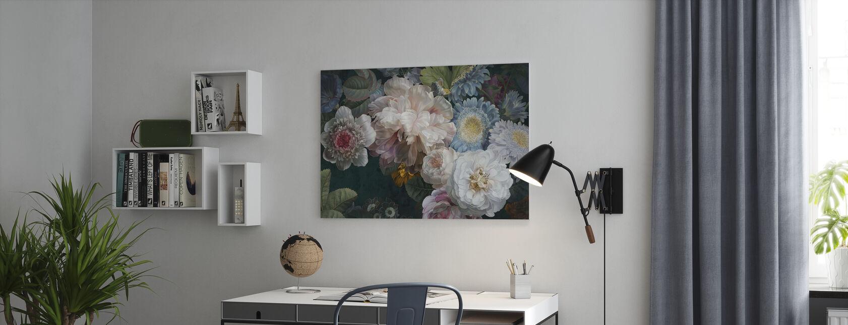 Arrangement de lustre - Impression sur toile - Bureau