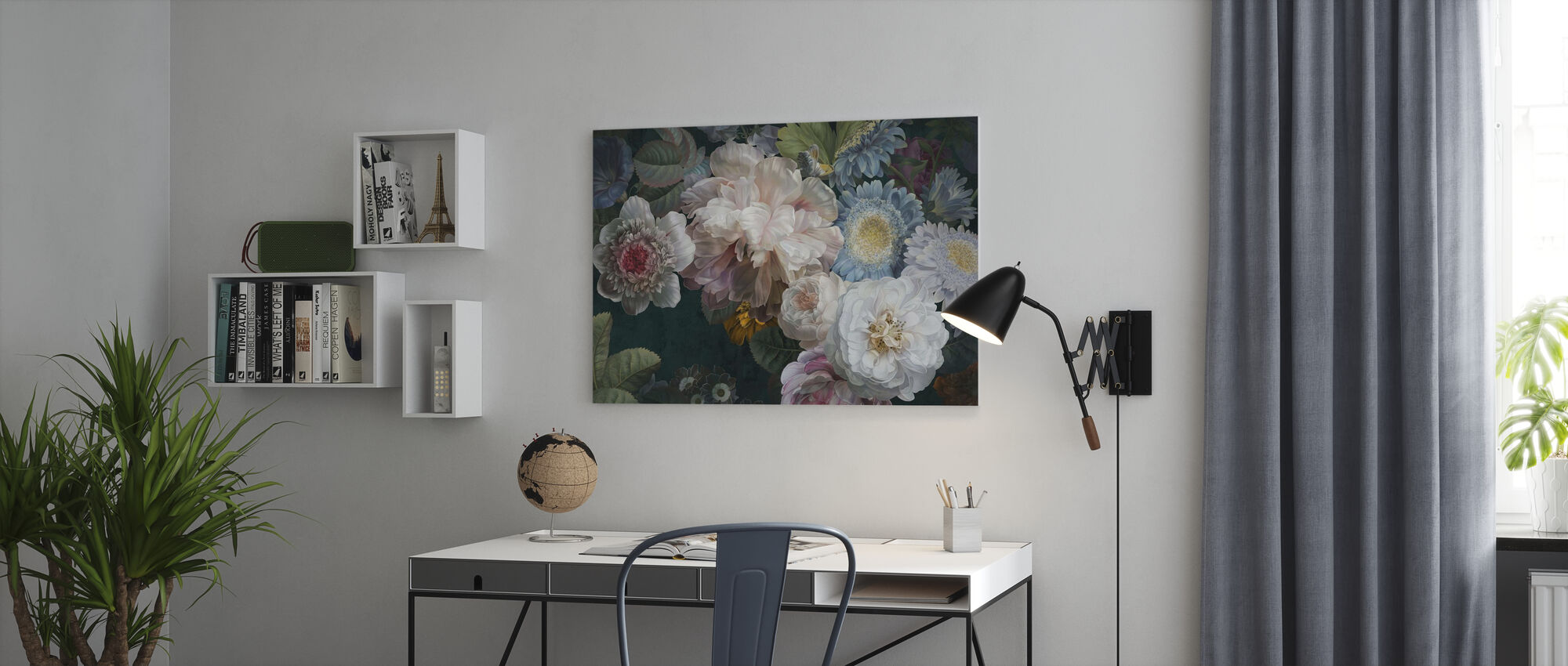 Lustre Arrangement - Leinwandbild - Büro