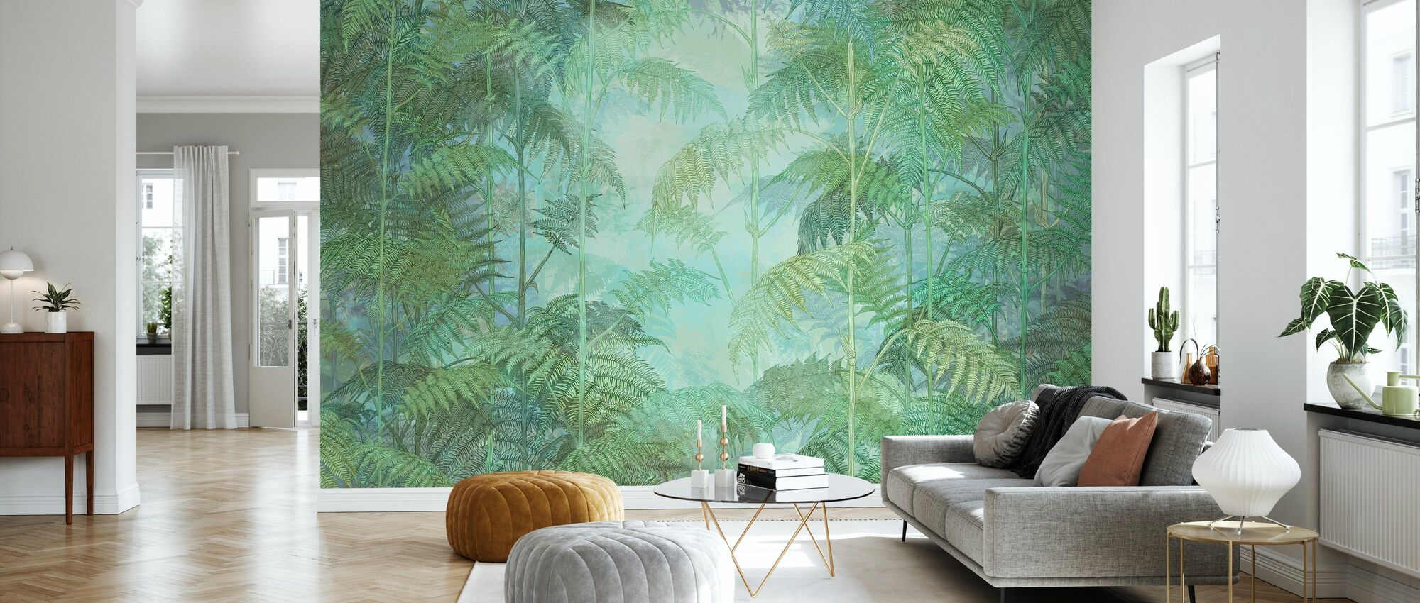 Into the Fern - Wallpaper - Living Room