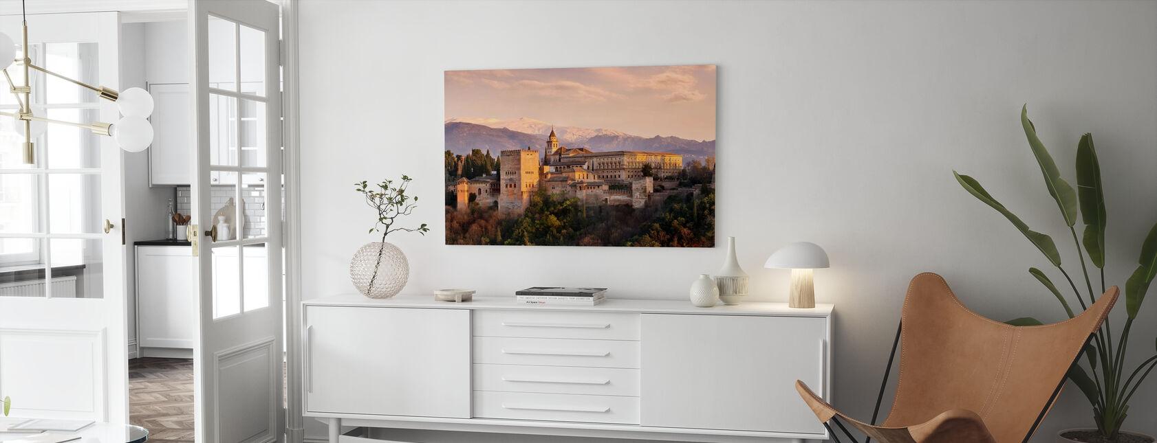 Alhambra in Granada - Leinwandbild - Wohnzimmer