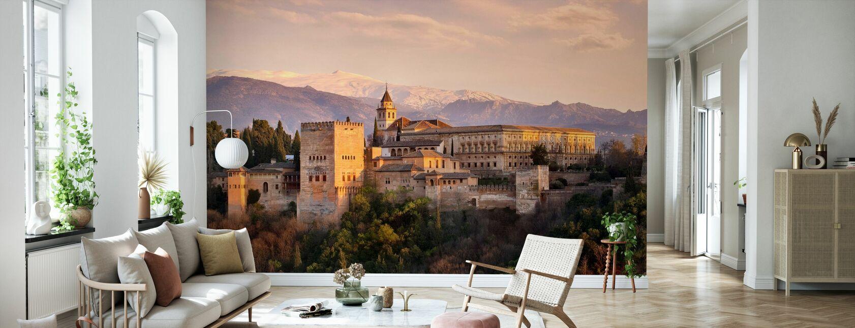 Alhambra i Granada - Tapet - Vardagsrum