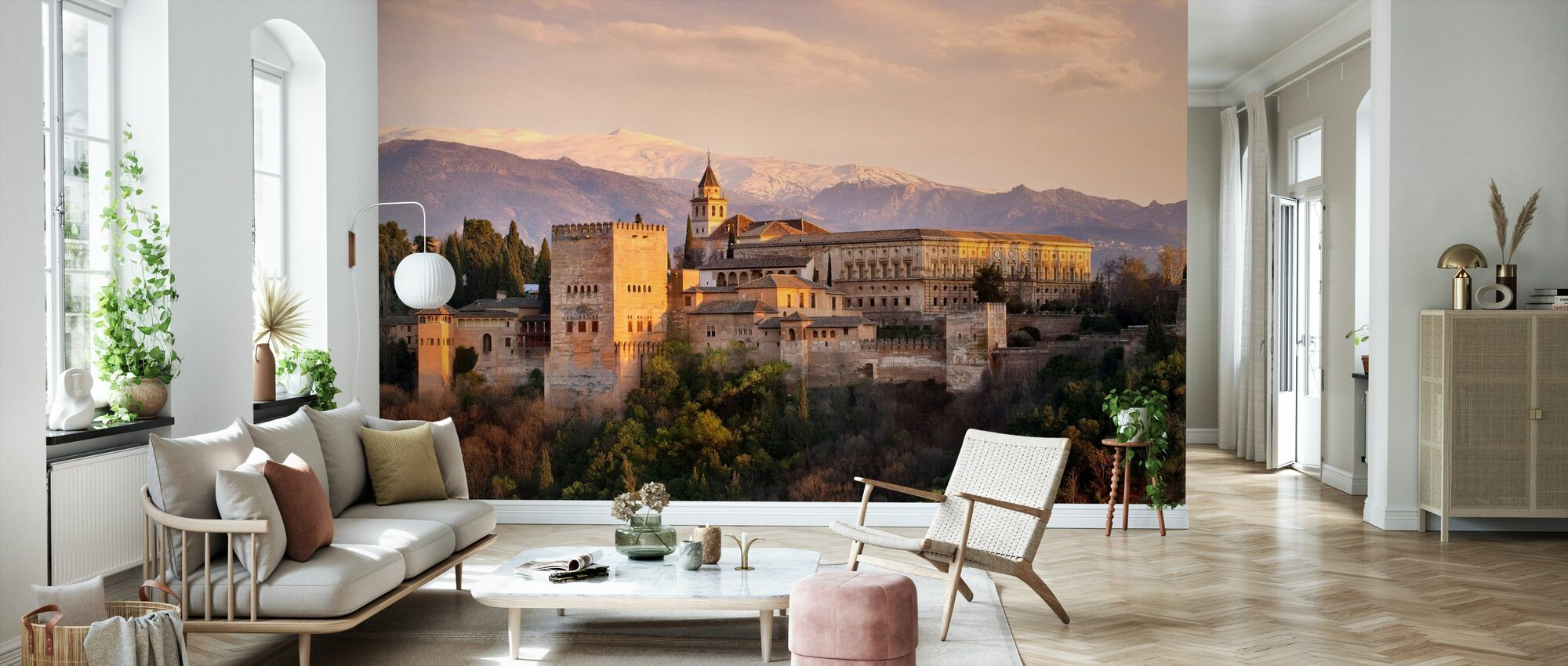 Alhambra in Granada - Wallpaper - Living Room