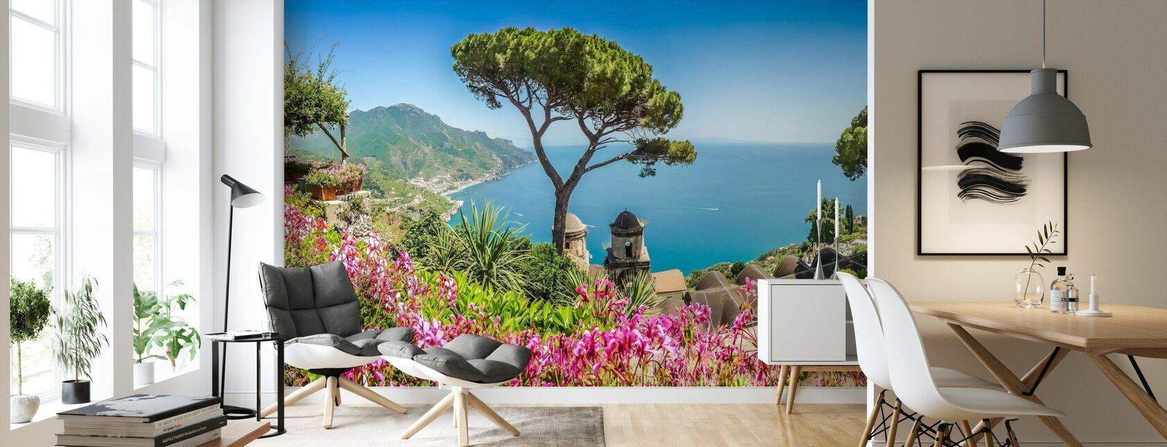 Villa Rufolo Gardens - Wallpaper - Living Room