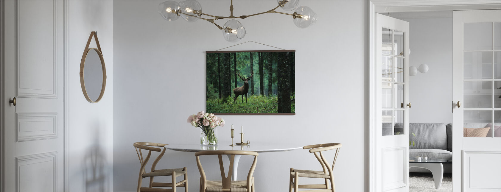 Elg i Skov - Plakat - Køkken