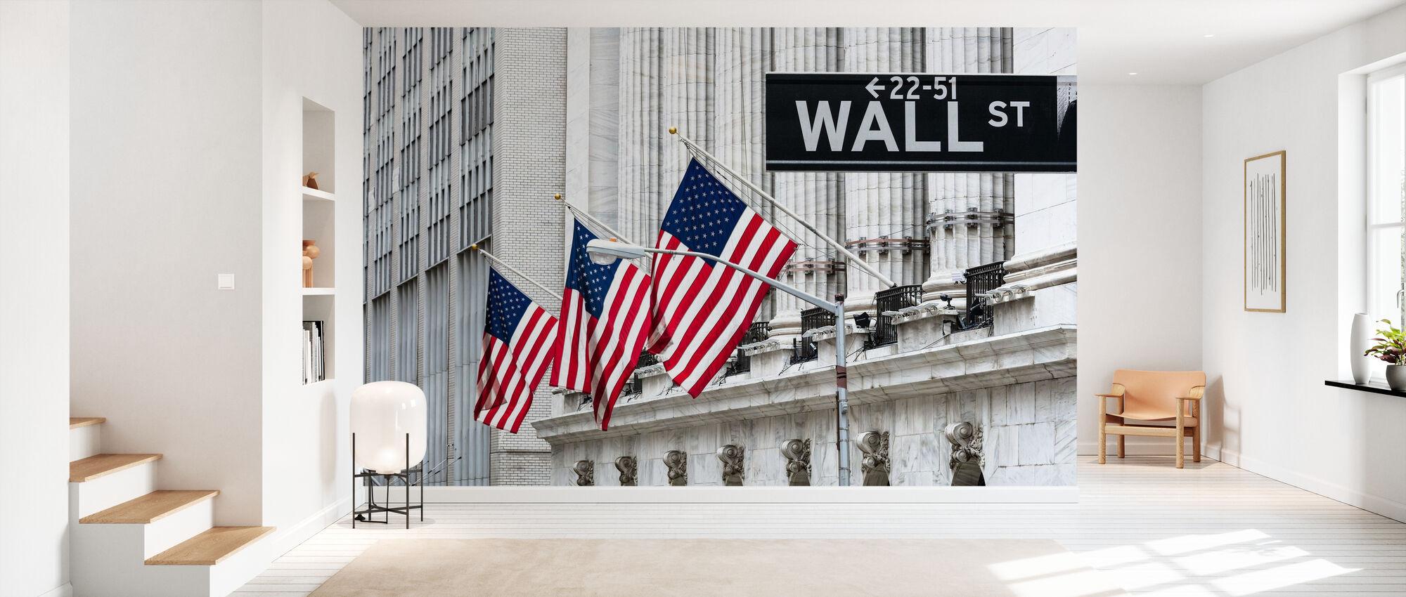 New York Wall Street - Wallpaper - Hallway
