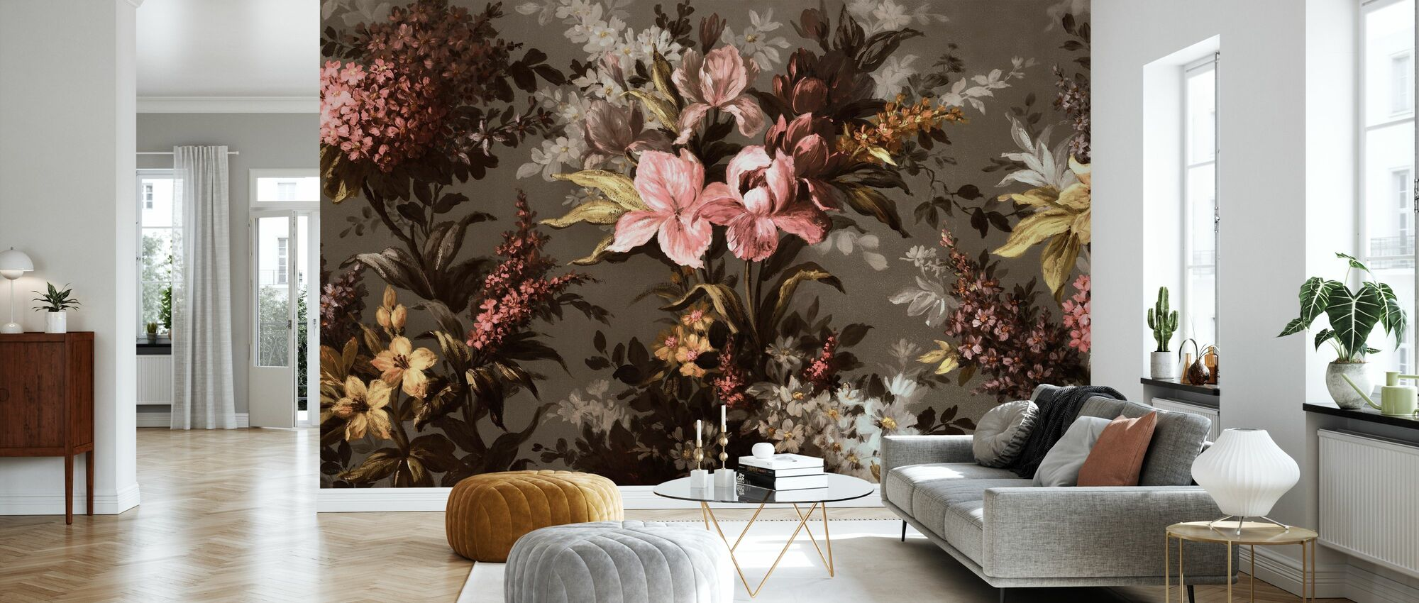Boheme Flowering - Wallpaper - Living Room