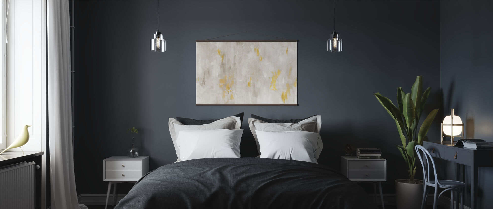 Brushed and Blushed - Poster - Bedroom