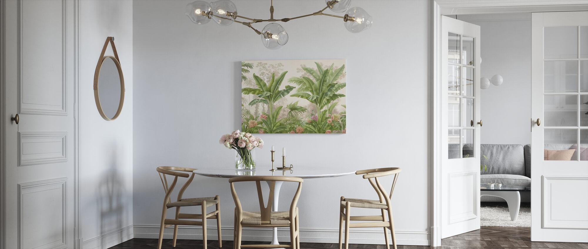 Tropical Bliss - Canvas print - Kitchen
