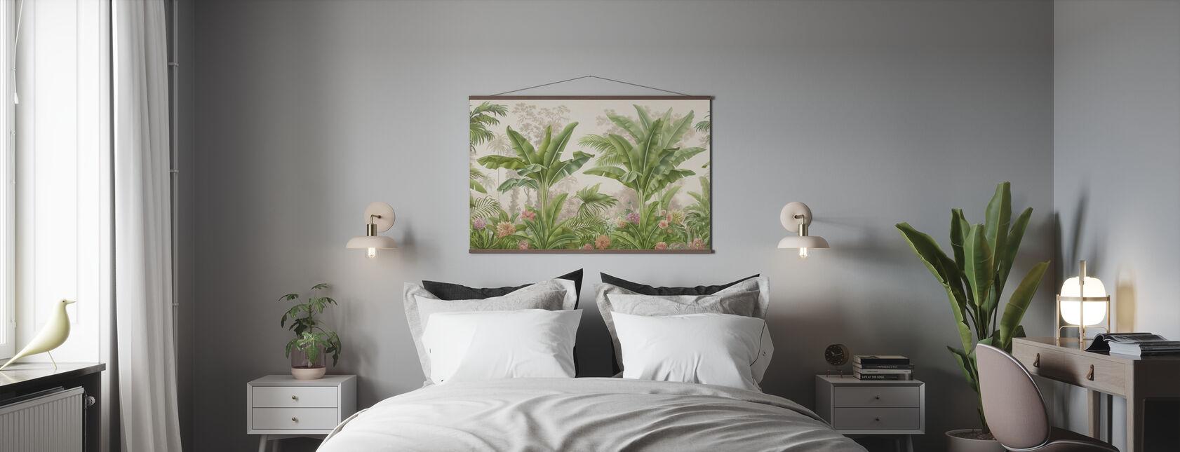 Trooppinen autuus - Juliste - Makuuhuone