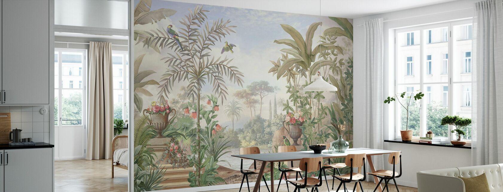 Tropical Patio - Wallpaper - Kitchen