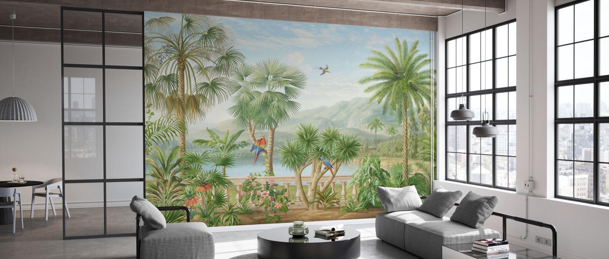 Tropical Plateau - Wallpaper - Office