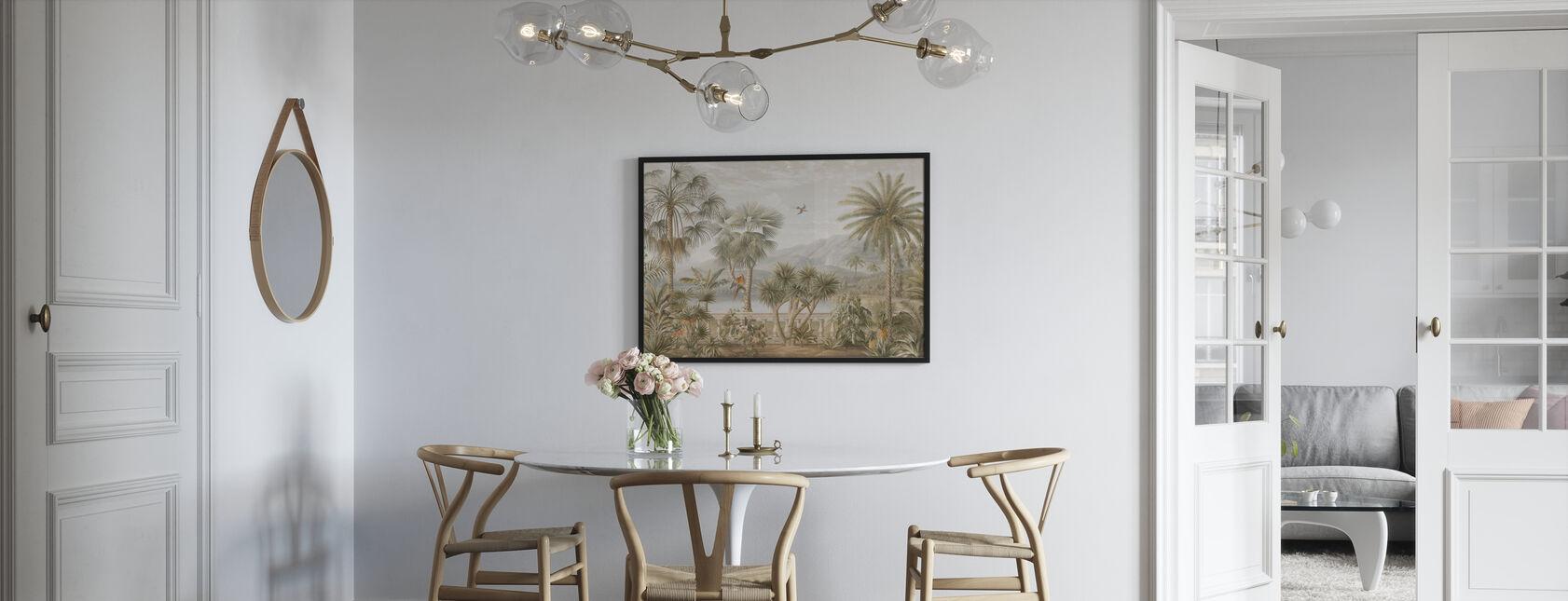 Tropisches Hochplateau - Sepia - Poster - Küchen