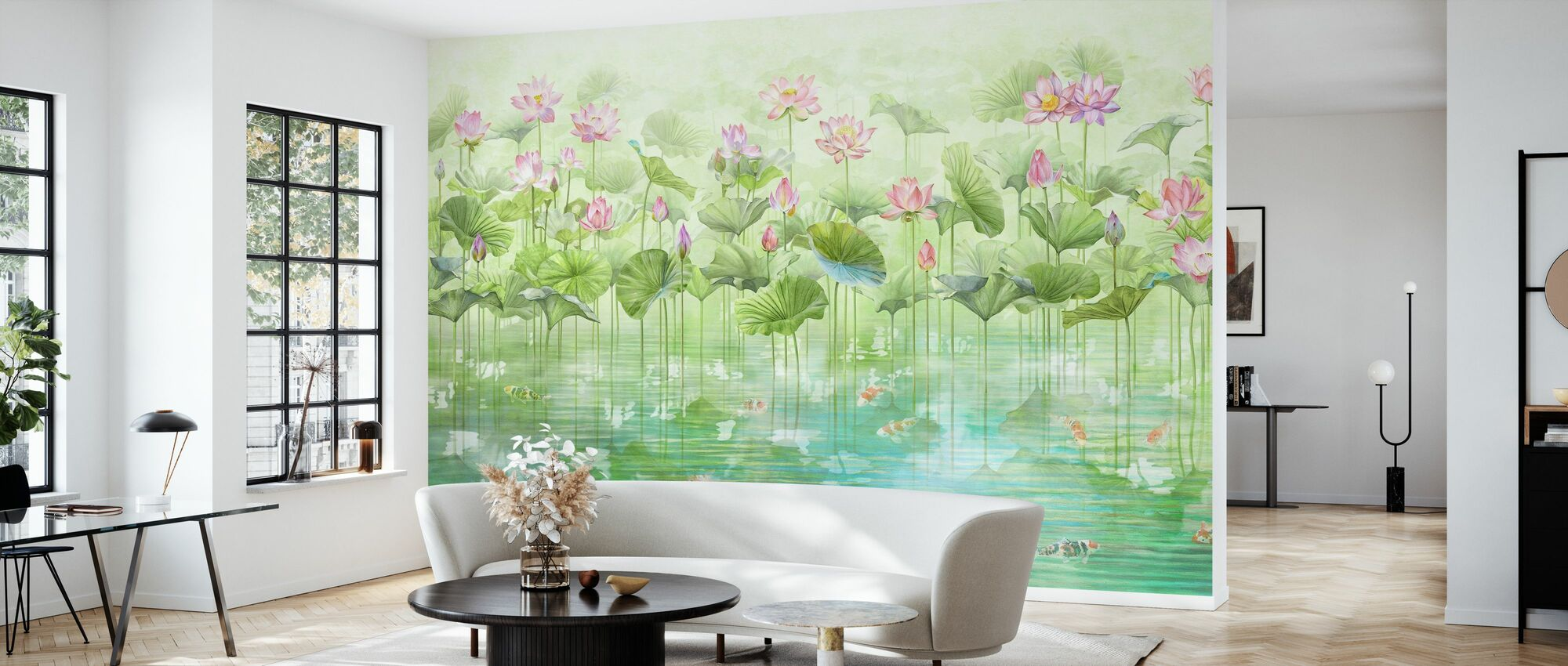 Koi Koi - Wallpaper - Living Room