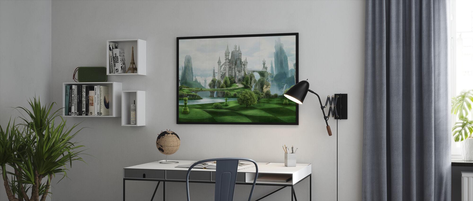 White Castle - Framed print - Office