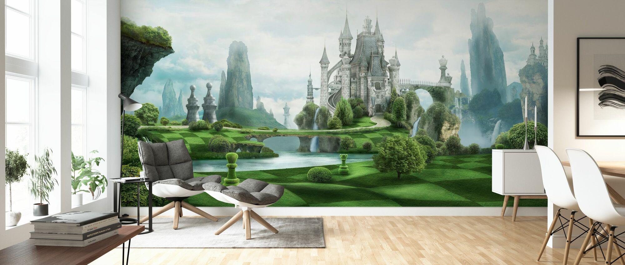 White Castle - Wallpaper - Living Room