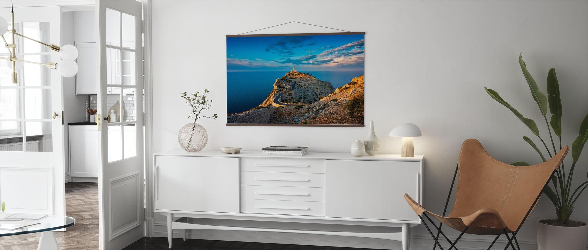 Lighthouse of Cap de Formentor - Poster - Living Room