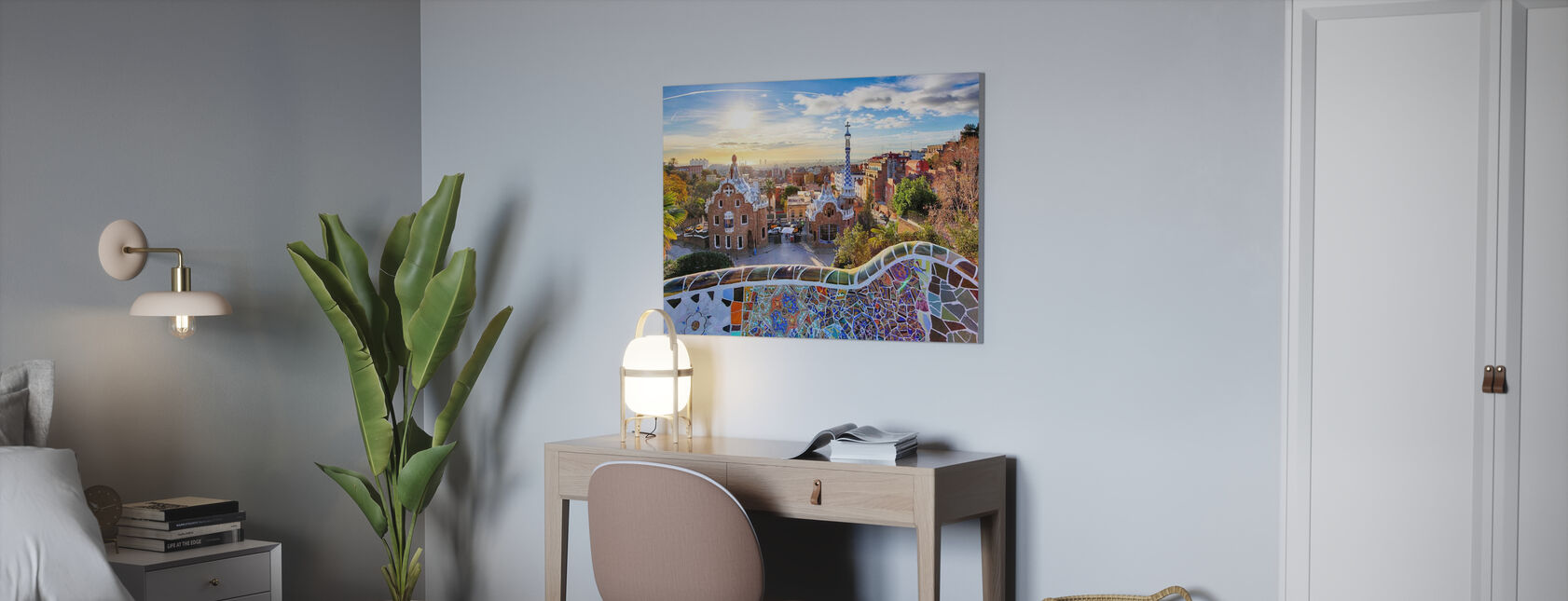 Park Guell - Canvas print - Office