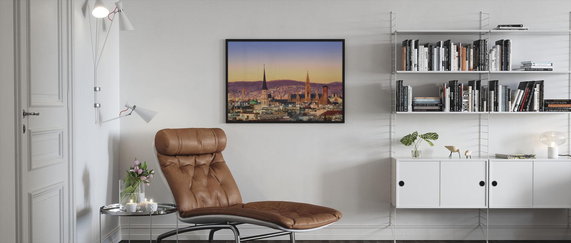 Vienna Sunrise - Framed print - Living Room