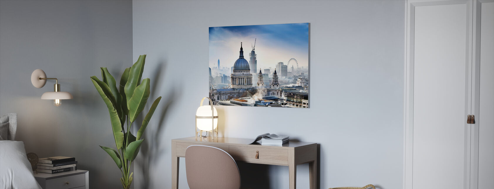 St Pauls Cathedral - Canvas print - Office